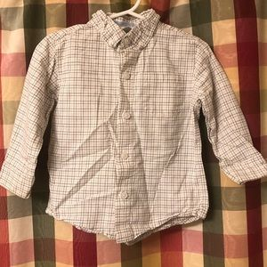 18-24 months Janie and Jack button down shirt